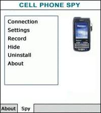 Is your phone equipped with spy software window mobile OS?