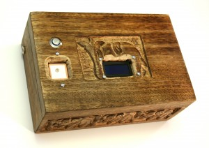 GPS Puzzle Box: It started out as a wedding gift…